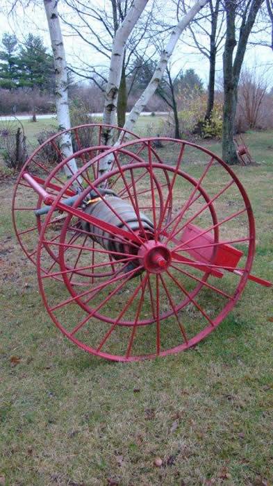 firehose cart Vintage