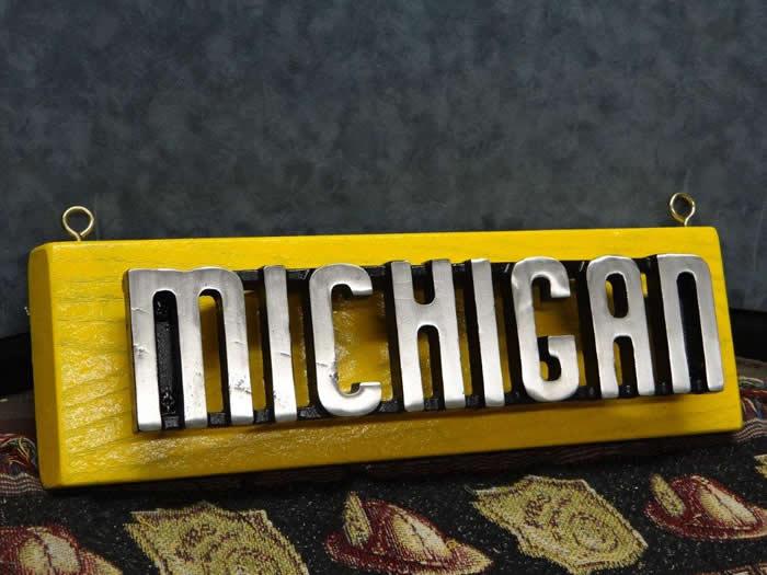 Vintage Cast Aluminum Maker S Emblem Off A 1950 60 S