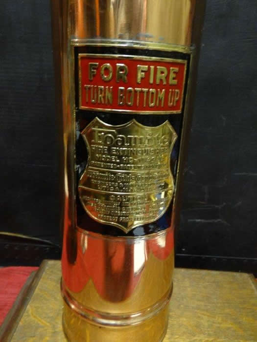 Foamite Antique Quot Pony Size Quot Restored Fire Extinguisher