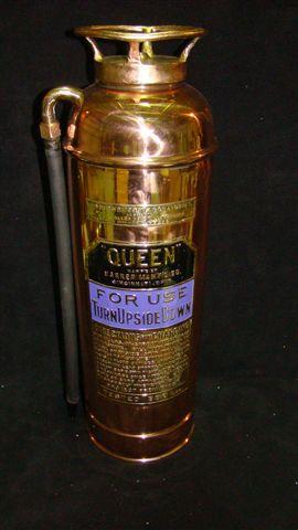 queen fire extinguisher