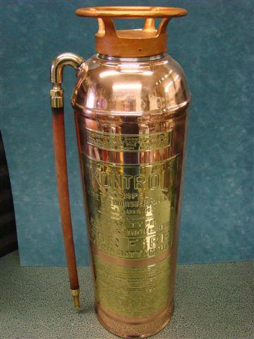 Antique fire extinguisher - Kontrol Stempel fire extinguisher Fire