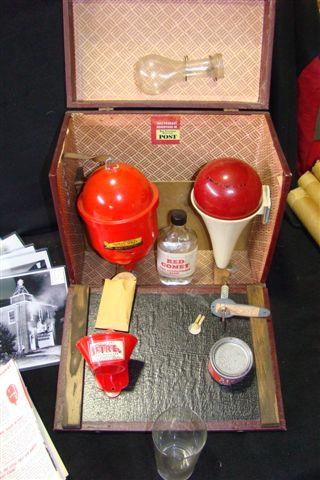 Vintage Red Comet Fire Extinguisher Quot Salesman Quot Kit