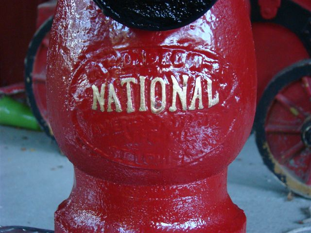 Antique  U0026quot National U0026quot  Fire Hydrant   U0026quot May West U0026quot  Style  Patent