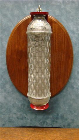 """Vintage """"Dri-Gas"""" Glass dry chemical Fire Extinguisher"""