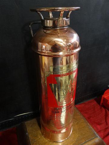 Keystone Restored Soda Acid Copper Brass Fire