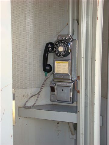 Metal Telephone Booth As Mfg By The Suttle Equip Corp