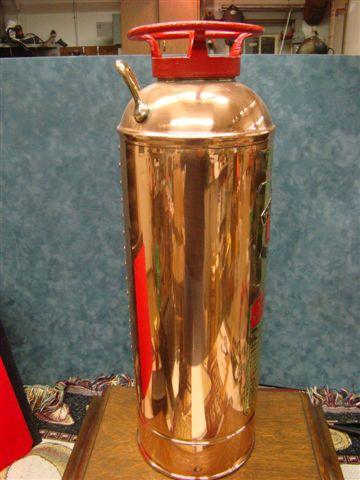 Restored Red Top Brand Soda Acid Brass Amp Copper Fire