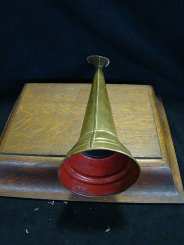 Vintage 1800's Fireman's Working Speaking Trumpet